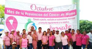 Caravana Rosa en Arriaga a Favor de la Lucha Contra el Cáncer de la Mujer